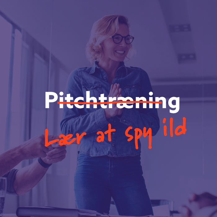Book Pitchtræning: Lær at spy ild